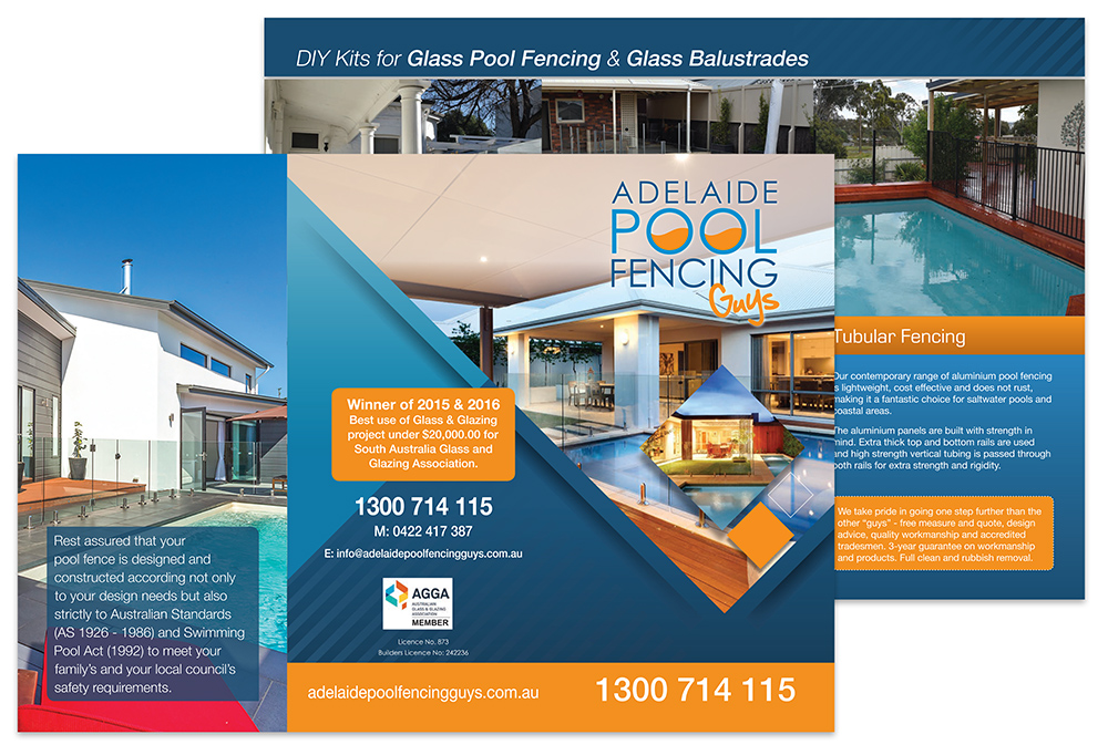 Pool fencing dl brochure